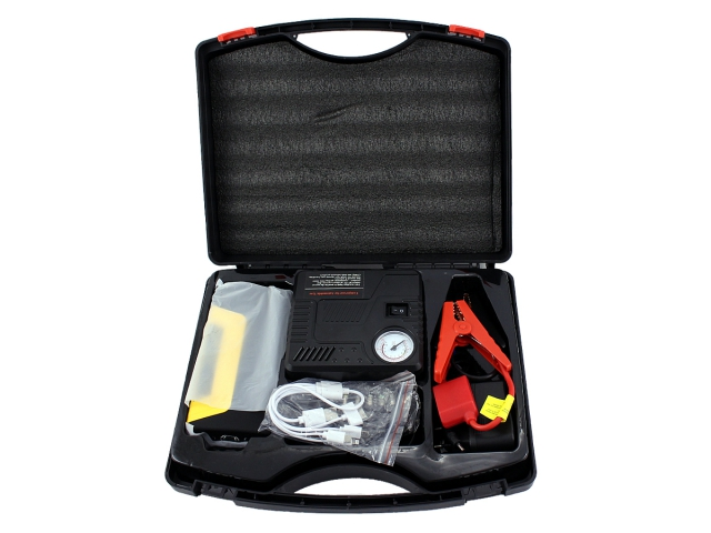BOOST Jump Starter, POWERBANK + kompresor 12V