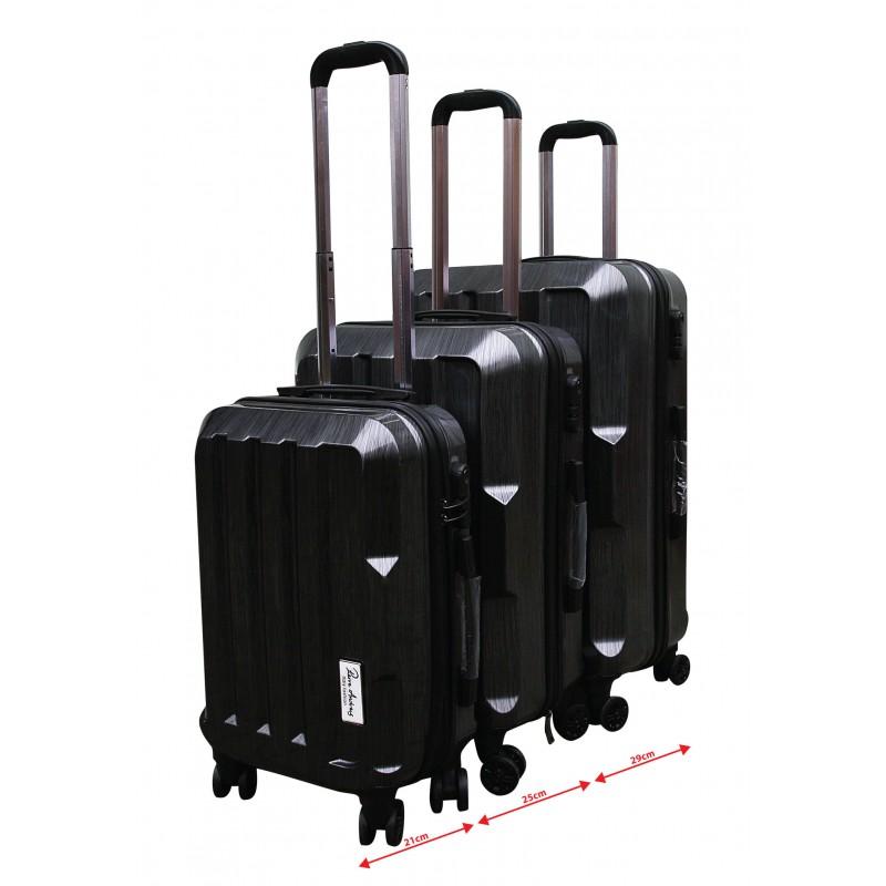 3b518f6cb7ef ... Pierre Andreus - 3 dielny set cestovných kufrov empty