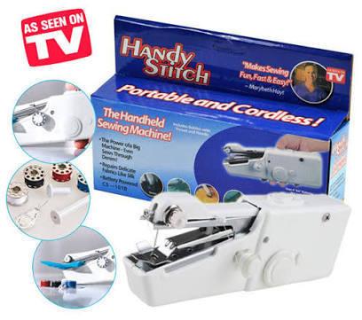 VÝPREDAJ - OD 4€ | Šikovný šijací stroj do ruky - Handy Stitch |  SUPERKNIVES.sk
