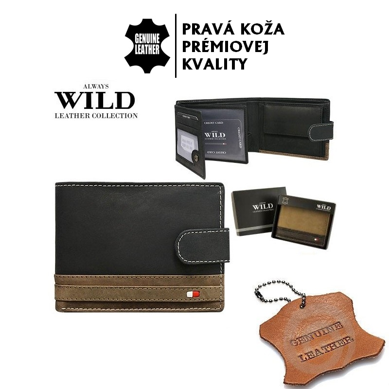 Always Wild - N992L-R BLACK/TAN